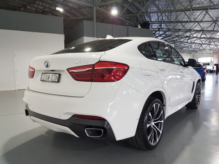 2018 BMW X6 xDrive30d F16 White