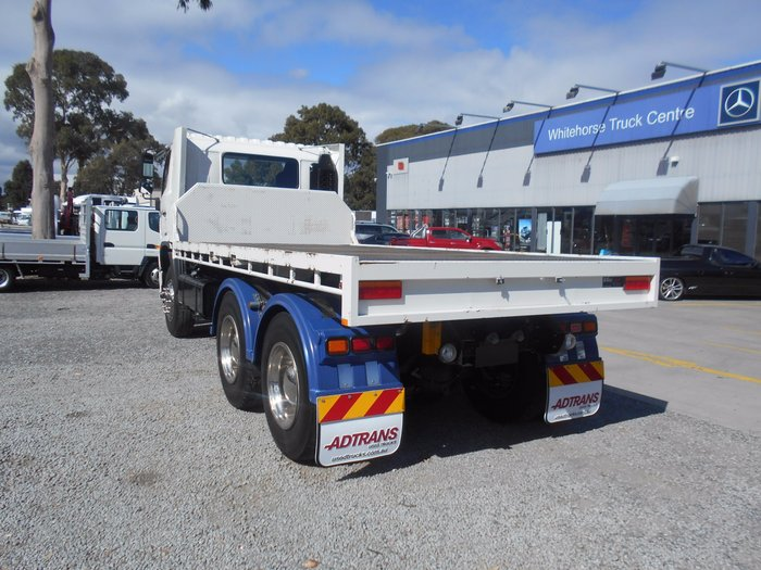 2013 Hino FM 2632-500 Series QUICK RELEASE STEEL TRAY WHITE