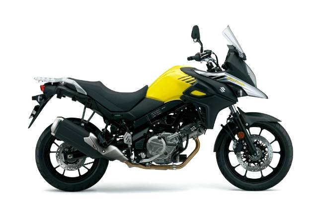 2017 SUZUKI V-STROM 650 ABS (DL650A) ROAD YELLOW