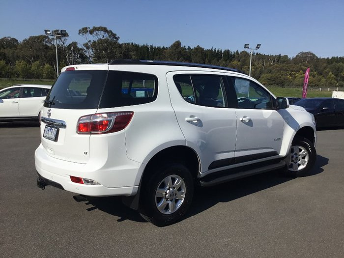 2012 HOLDEN COLORADO 7 LT RG White