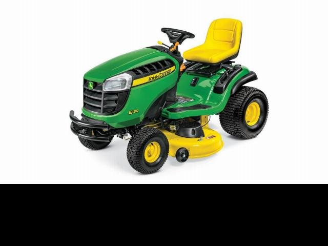 John Deere Mowers E130 Ride On Mower Green
