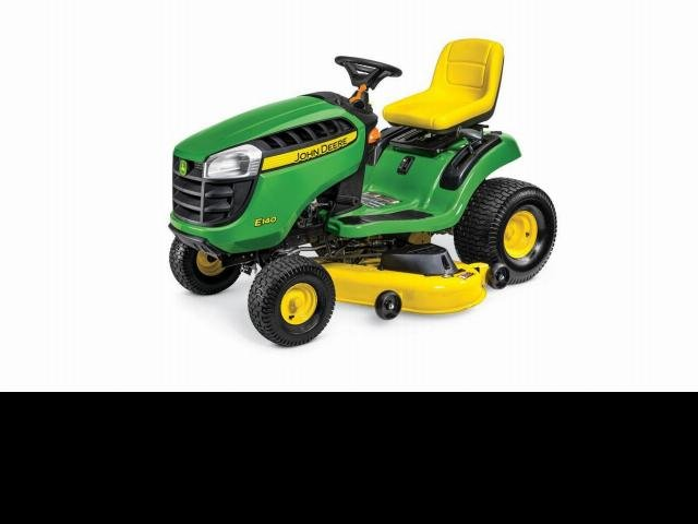 John Deere Mowers E140 Ride On Mower Green
