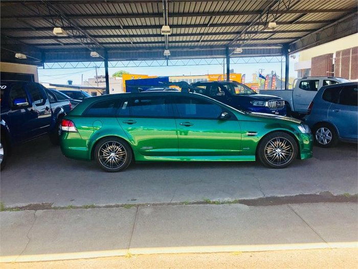 2011 Holden Commodore SS V VE II Green