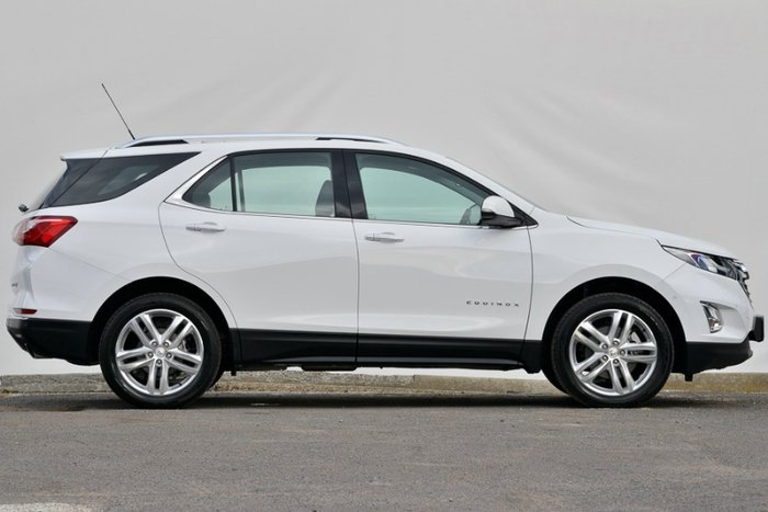2017 HOLDEN EQUINOX LTZ-V EQ MY18 SUMMIT WHITE