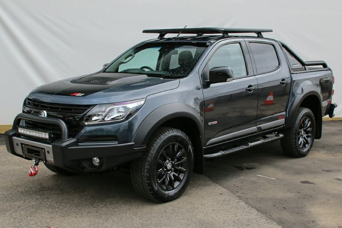 2018 HOLDEN COLORADO Z71 DUAL CAB RG MY19 DARK SHADOW