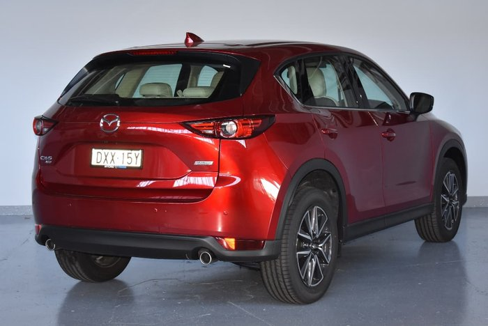 2018 MAZDA CX-5 GT KF Series Red