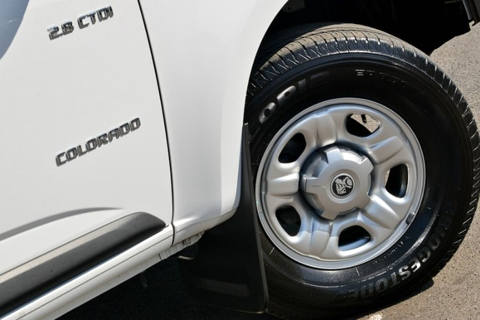 2014 HOLDEN COLORADO LS SINGLE CAB RG MY15 WHITE