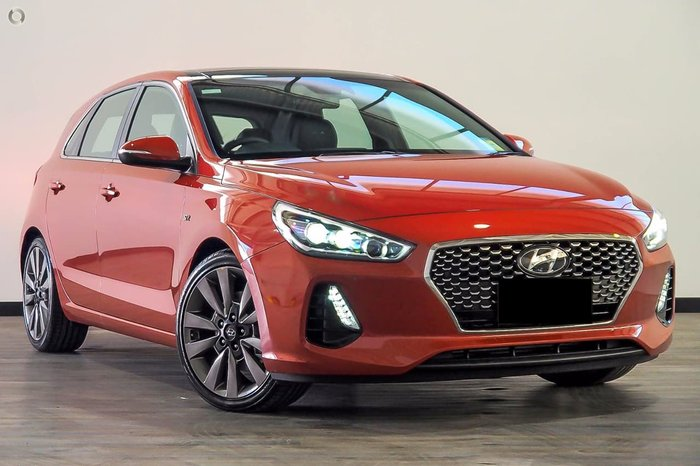 2018 HYUNDAI I30 SR Premium PD Orange