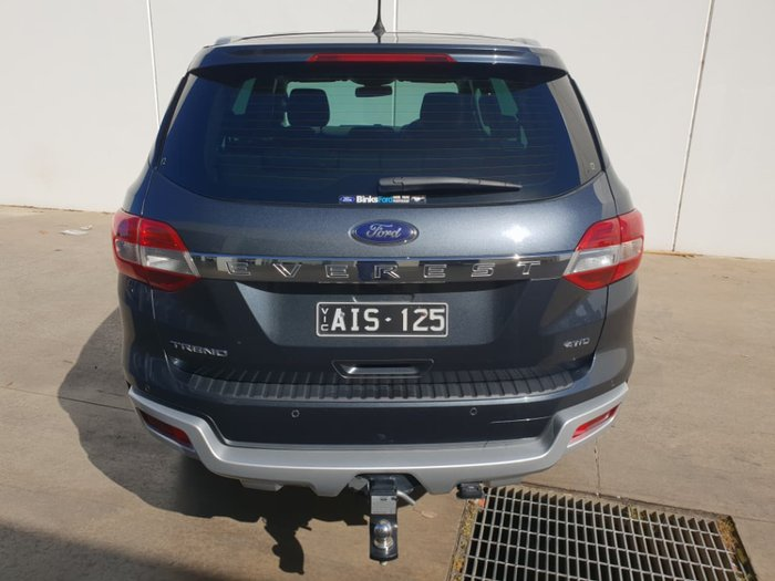 2016 FORD EVEREST Trend UA Grey