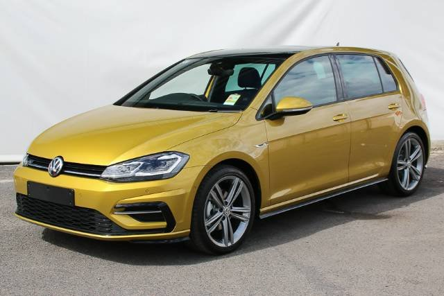 2018 VOLKSWAGEN GOLF 110TSI HIGHLINE 7.5 MY18 TUMERIC YELLOW