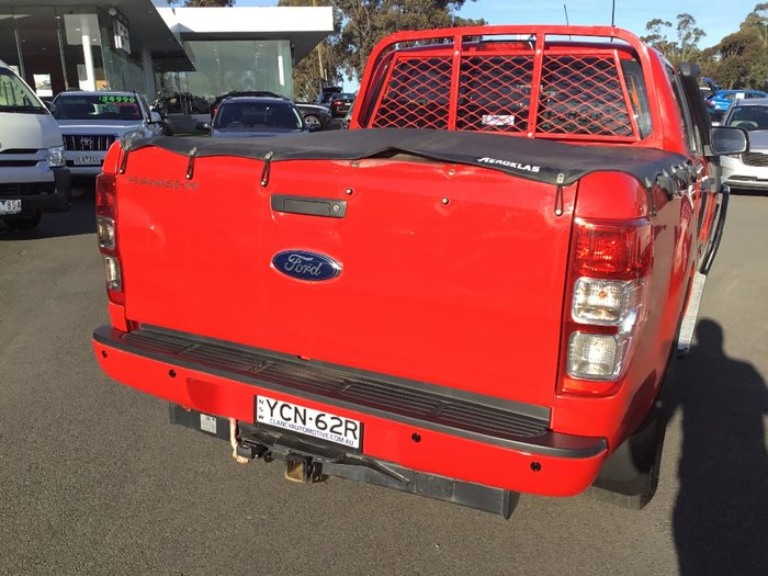 2015 FORD RANGER XL PX MkII Red