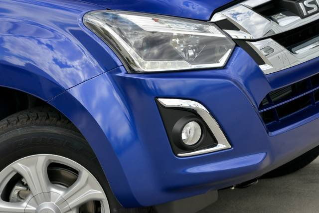 2018 ISUZU D-MAX LS-U DUAL CAB MY18 BLUE COBALT