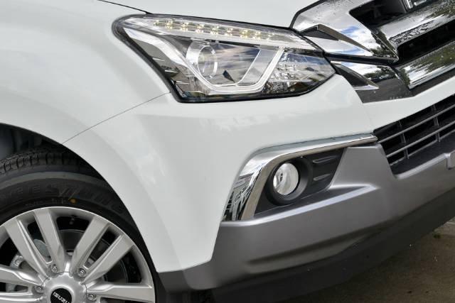 2018 Isuzu MU-X LS-T MY18 4X4 Dual Range SILKY WHITE PEARL