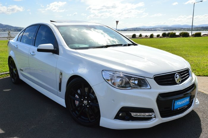 2015 HOLDEN COMMODORE SS V REDLINE VF MY15 WHITE
