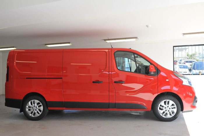 2018 RENAULT TRAFIC 103KW X82 Red