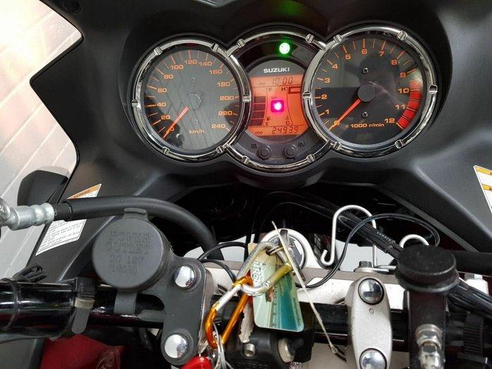 2011 Suzuki DL1000 V-STROM Red