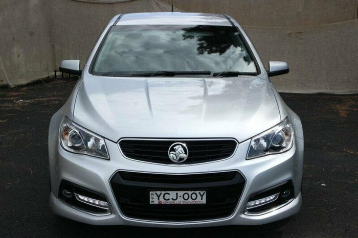 2014 HOLDEN COMMODORE SV6 Storm VF Silver