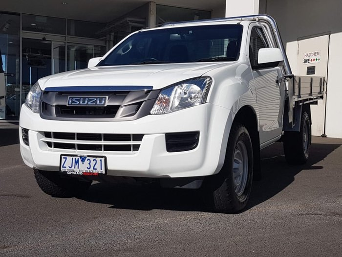 2012 ISUZU D-MAX SX (No Series) White