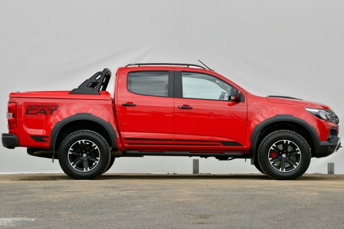 2018 HOLDEN SPECIAL VEHICLES COLORADO SPORTSCAT DUAL CAB RG MY19 ABSOLUTE RED