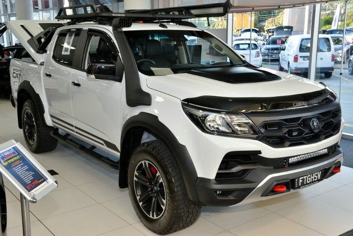 2018 HOLDEN SPECIAL VEHICLES COLORADO SPORTSCAT DUAL CAB RG MY18 SUMMIT WHITE