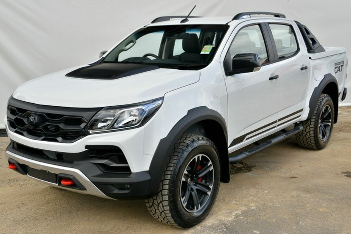 2018 HOLDEN SPECIAL VEHICLES COLORADO SPORTSCAT DUAL CAB RG MY19 SUMMIT WHITE