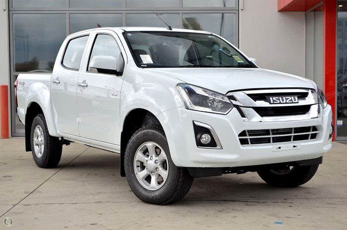 2018 ISUZU D-MAX LS-M (No Series) White