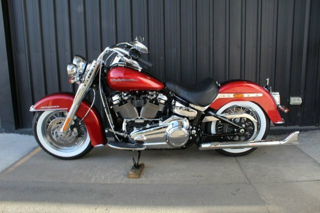 0 Harley-davidson 2019 HARLEY-DAVIDSON 1800CC FLDE DELUXE WICKED RED/TWISTED CHERRY