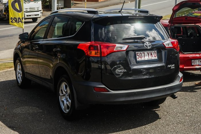 2014 Toyota RAV4 GX ASA44R MY14 4X4 On Demand Black