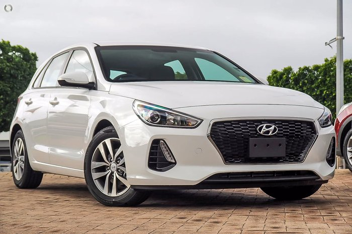 2018 HYUNDAI I30 Active PD2 White