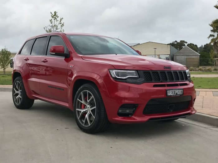 2018 JEEP GRAND CHEROKEE SRT WK Red