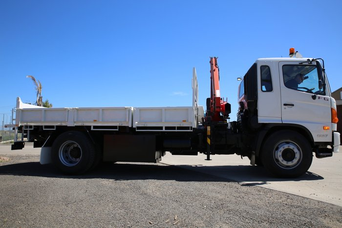 2008 Hino FG 1527-500 Series SA ROADWORTHY COMPLETED WHITE