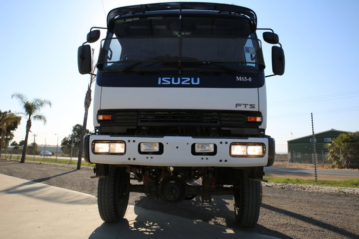 2005 Isuzu FTS750 EX-POWER NETWORKS WHITE
