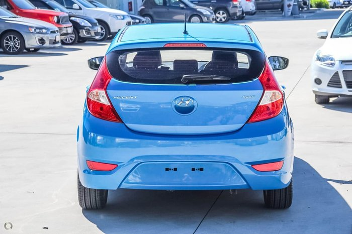 2017 HYUNDAI ACCENT Sport RB6 Blue