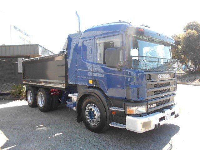 2005 Scania P420 SCANIA P420 TIPPER