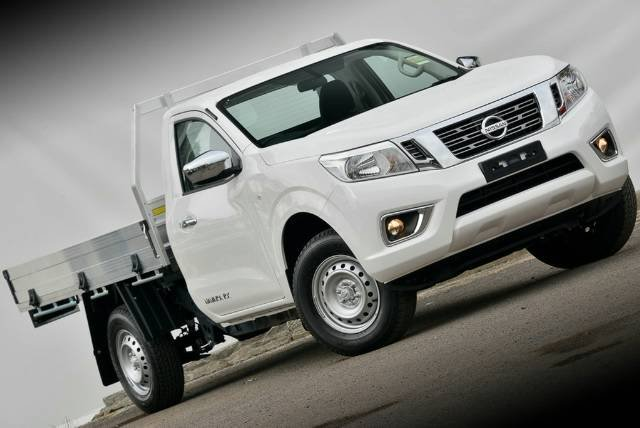 2018 NISSAN NAVARA RX SINGLE CAB D23 S3 POLAR WHITE