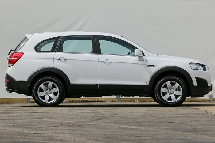 2015 HOLDEN CAPTIVA LS CG MY16 SUMMIT WHITE