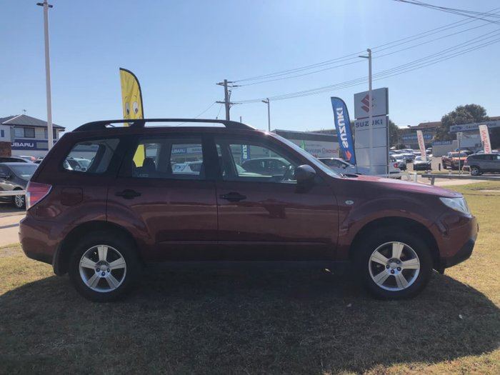 2012 SUBARU FORESTER XS S3 Red