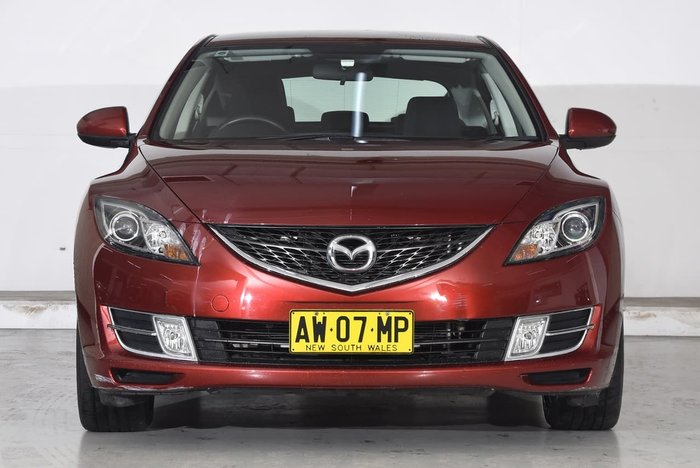 2007 MAZDA 6 Classic GG Series 2 Red