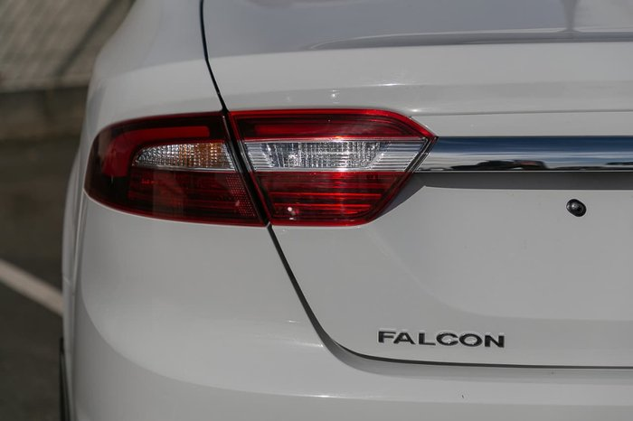 2016 FORD FALCON FG X White