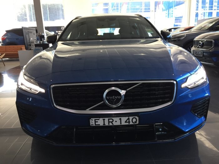 2019 Volvo V60 T8 R-Design MY20 4X4 On Demand Bursting Blue