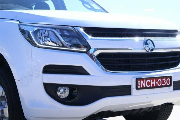 2017 HOLDEN TRAILBLAZER LT RG White