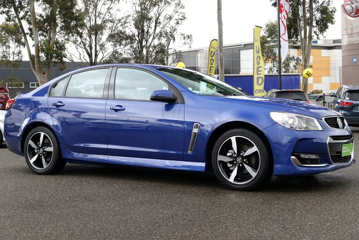 2017 HOLDEN COMMODORE SV6 VF Series II Grey