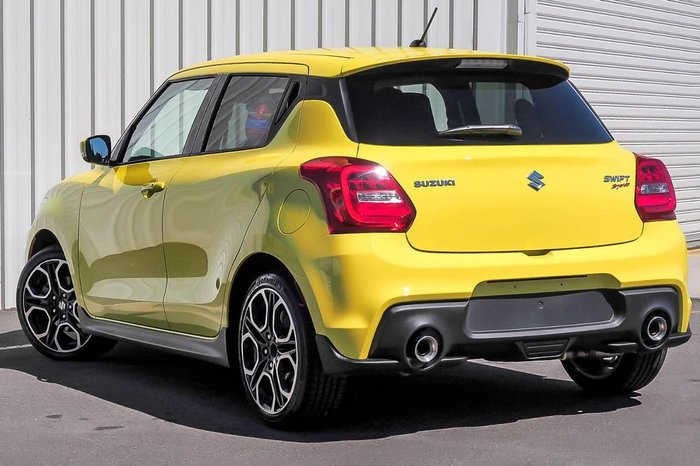 2017 SUZUKI SWIFT Sport AZ Yellow