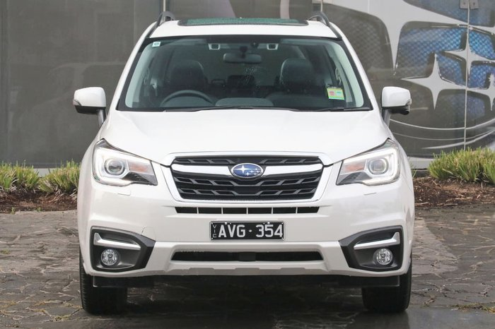 2018 SUBARU FORESTER 2.0D-S S4 White
