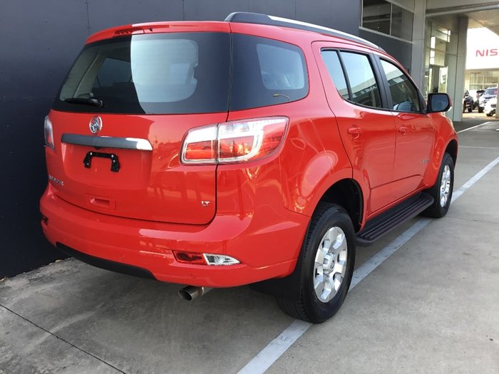 2017 HOLDEN TRAILBLAZER LT RG Red