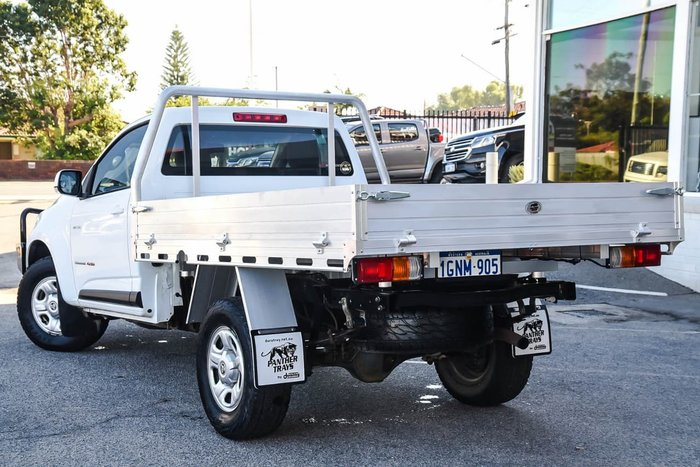 2014 HOLDEN COLORADO LX RG White