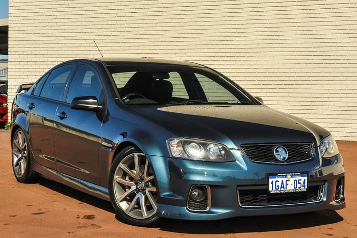 2012 HOLDEN COMMODORE SS V VE Series II Blue