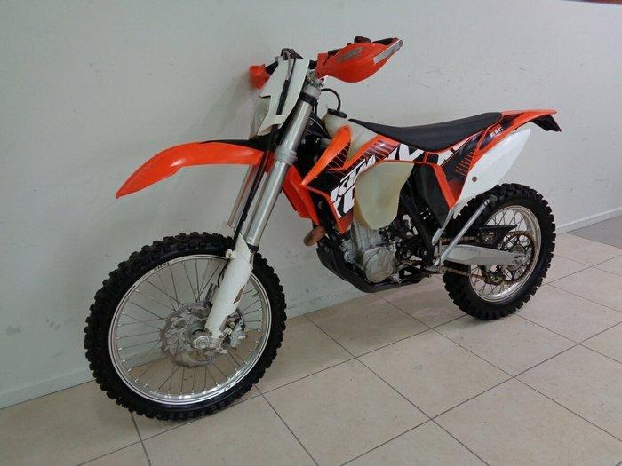 2012 Ktm 500 EXC Orange