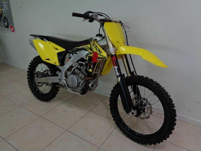 2016 Suzuki RM-Z450 Yellow