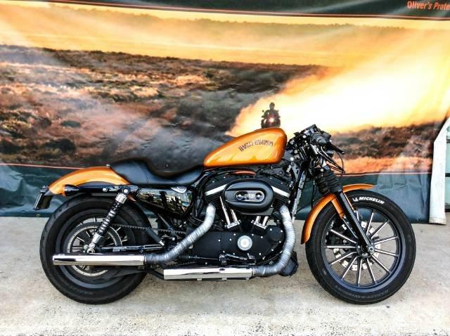 2013 HARLEY-DAVIDSON IRON 883 (XL883N) ROAD ORANGE